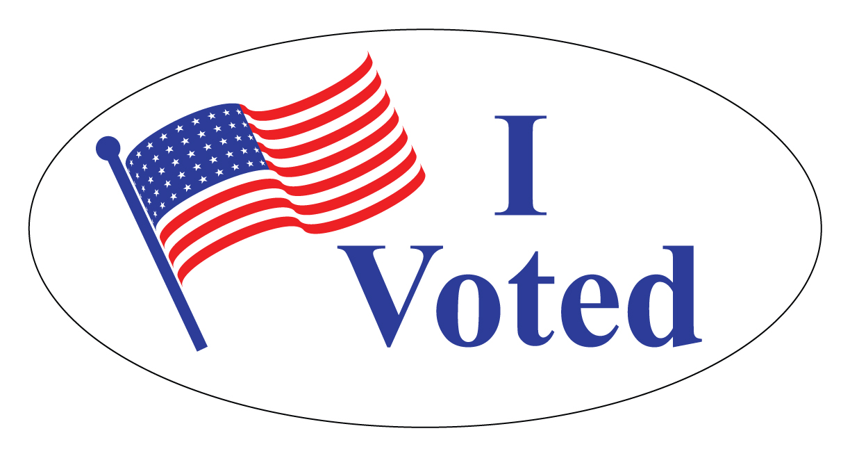 Buy Our Quot I Voted Quot Decal From Signs World Wide