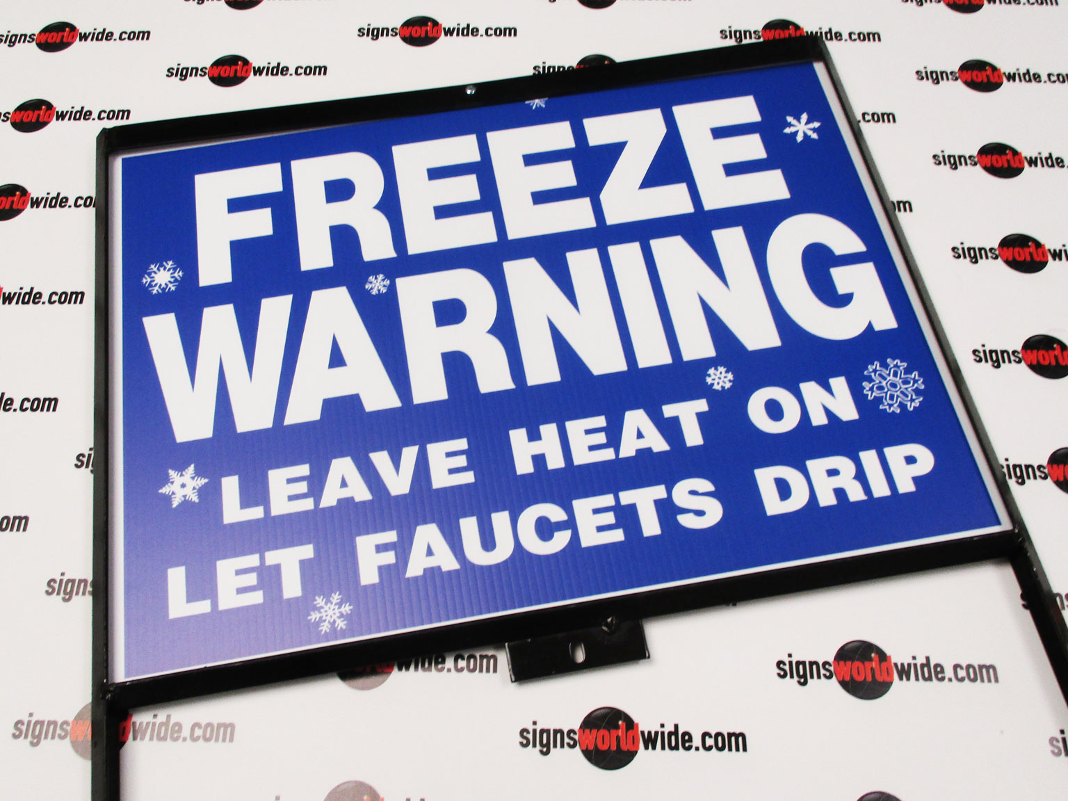Freeze-Warning-in-steel-frame