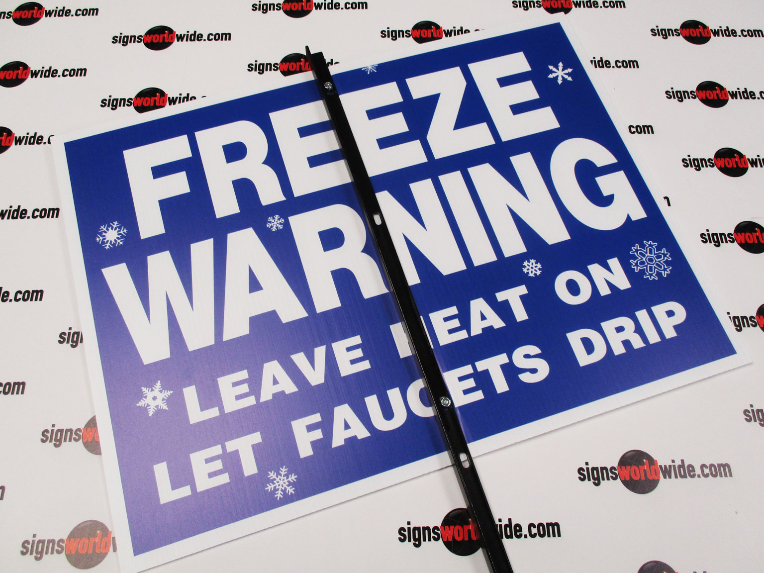 Freeze-Warning-on-steel-stake-back