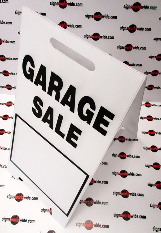 Garage-Sale-coro-A-frame-sign
