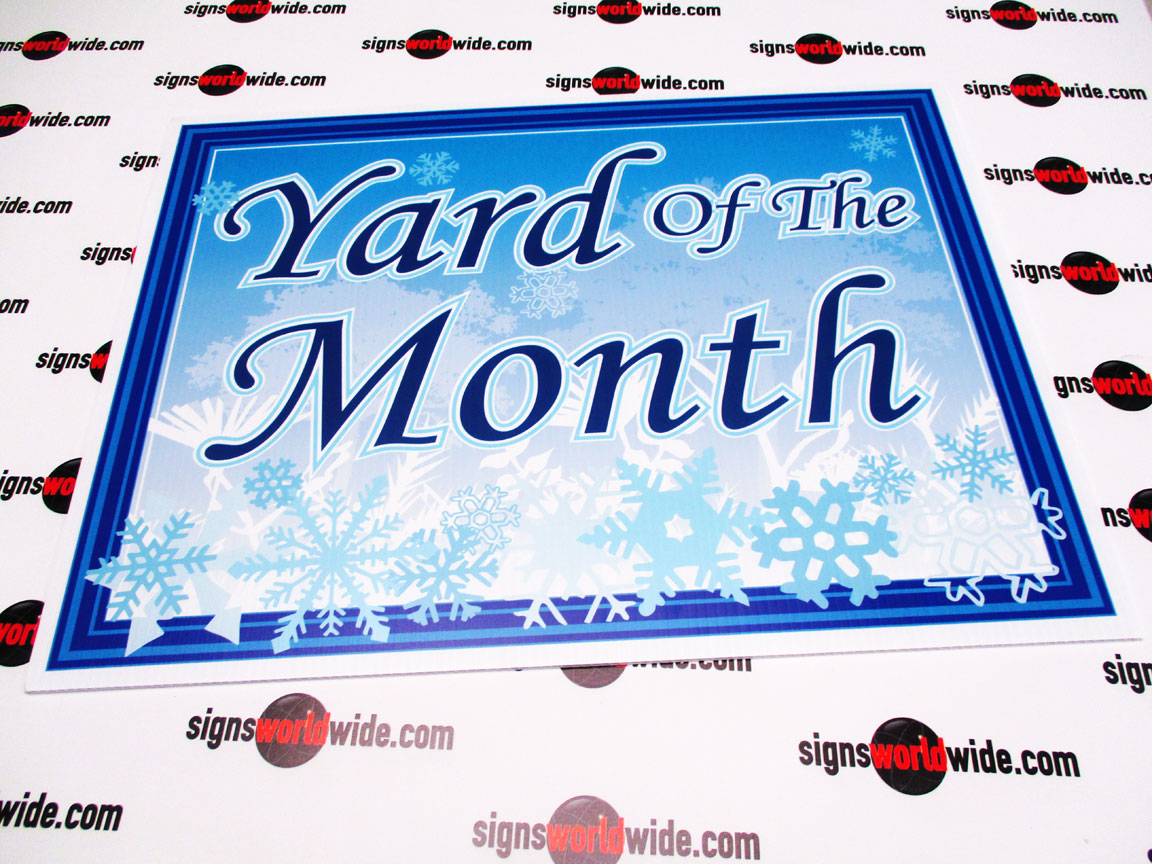 Yard-of-the-Month-snowflakes