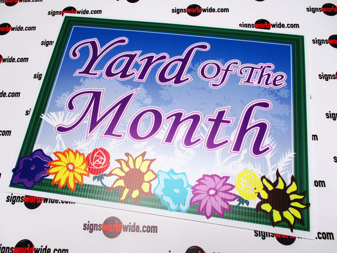 Yard-of-the-month-flowers