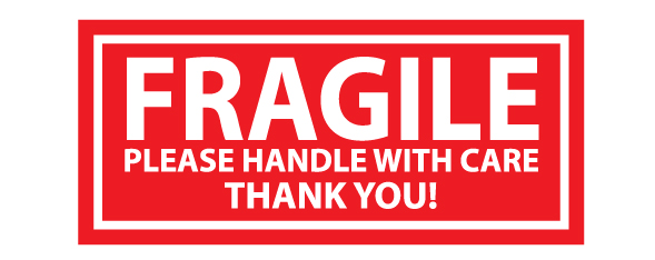 Buy Our Quot Fragile Please Handle With Care Quot Decal From Signs