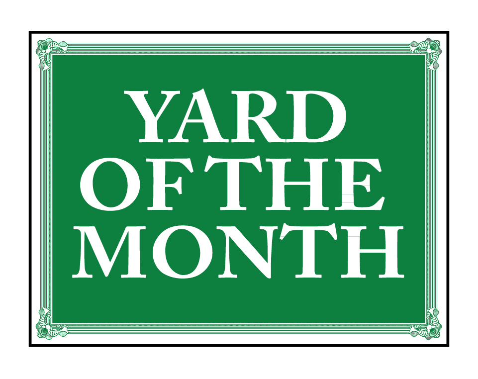 Buy our yard of the month 18 x 24 sign from signs world wide for The sign
