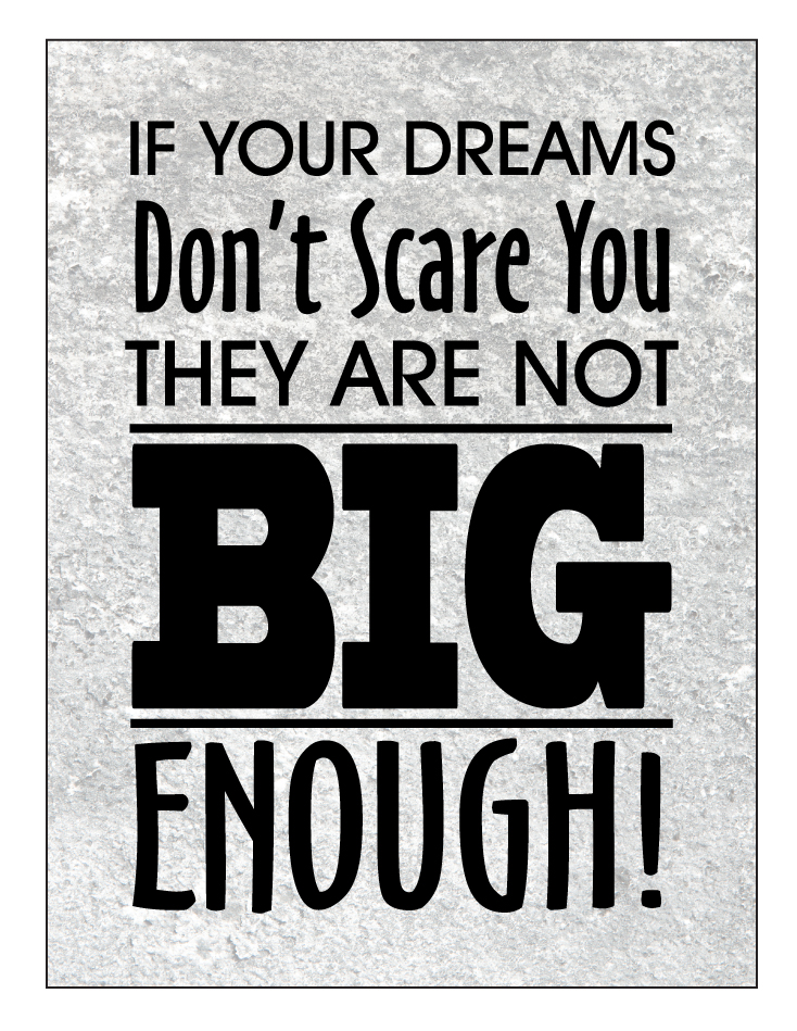 Buy Our Quot If Your Dreams Don T Scare You Quot Canvas Print At