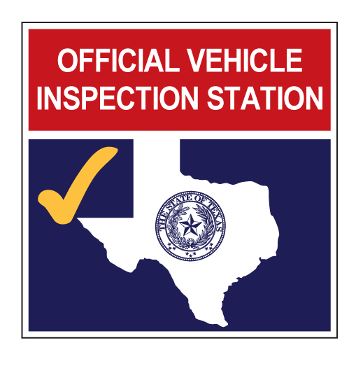 Texas Car Inspection >> Official Texas Vehicle Inspection Station 24 X 24 Aluminum