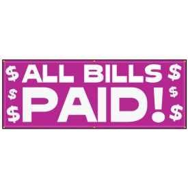 All Bills Paid banner image