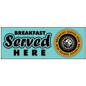 Breakfast Served banner