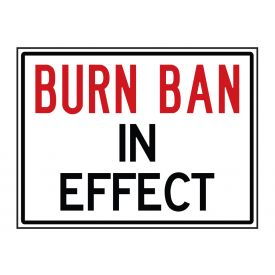 Burn Ban sign image