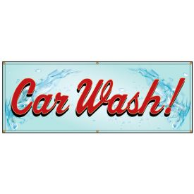 Car Wash Banner Image