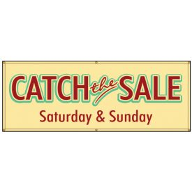Catch the Sale banner image