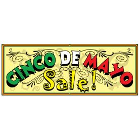 Cinco De Mayo Sale Banner