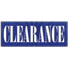 Clearance banner image