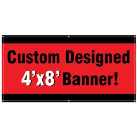 Custom banner design image