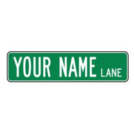 Your Name custom sign image