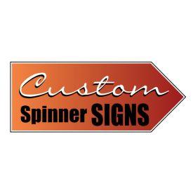 Custom spinner sign image