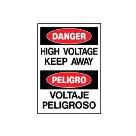 Danger High Voltage sign image
