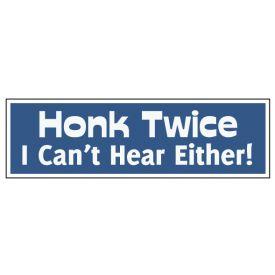 Honk Twice decal image