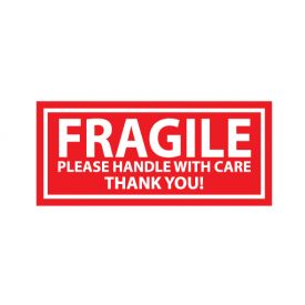 Fragile decal image