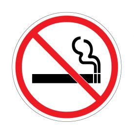 No Smoking decal image