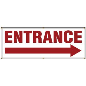 Entrance right arrow banner image