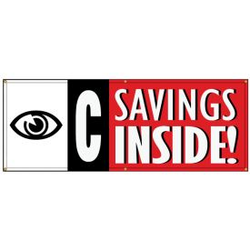 I See Savings banner image