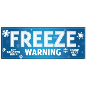 Freeze Warning Banner image