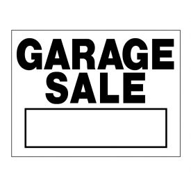 Garage Sale sign image