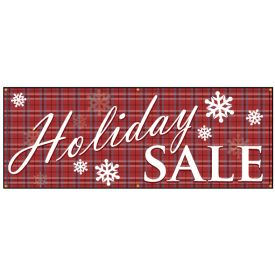 Holiday SALE banner image