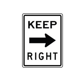 Keep Right image
