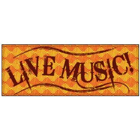 LIVE MUSIC banner image