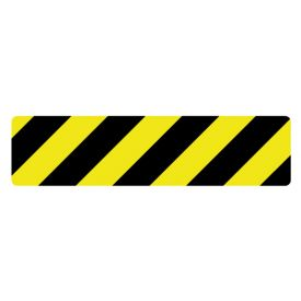 Caution stripe magnetic image