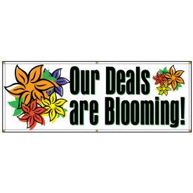Our Deals are Blooming banner image