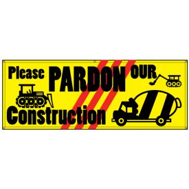 Please Pardon Our Construction banner image
