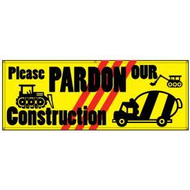Please Pardon Our Construction banner image