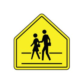 Pedestrian Crossing sign image