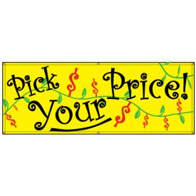 Pick Your Price banner image