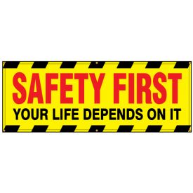 Safety First banner image
