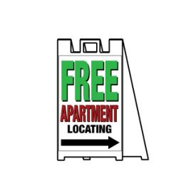 Free apartment locating image