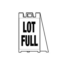 Lot full sign image