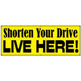 Shorten Your Drive Live Here banner image