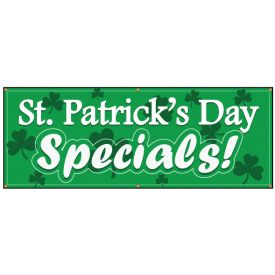 St Patrick's Day Specials banner image