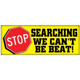 Stop Searching We can't Be Beat banner image