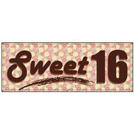 Sweet Sixteen banner image