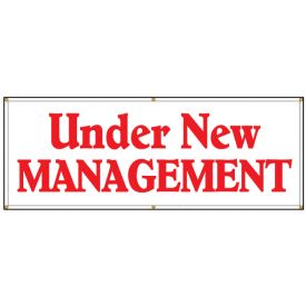 Under New Management banner image