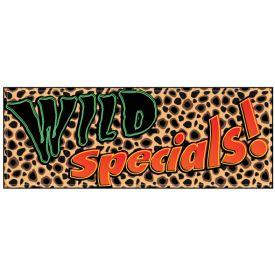 Wild Specials cheetah banner image