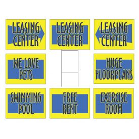 Apartment signs image