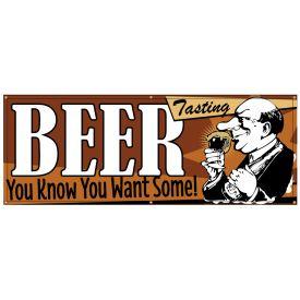 Beer Tasting Retro banner image