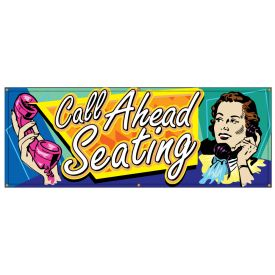 Call Ahead Seating Retro banner image