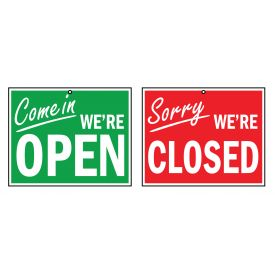 Open Closed sign image